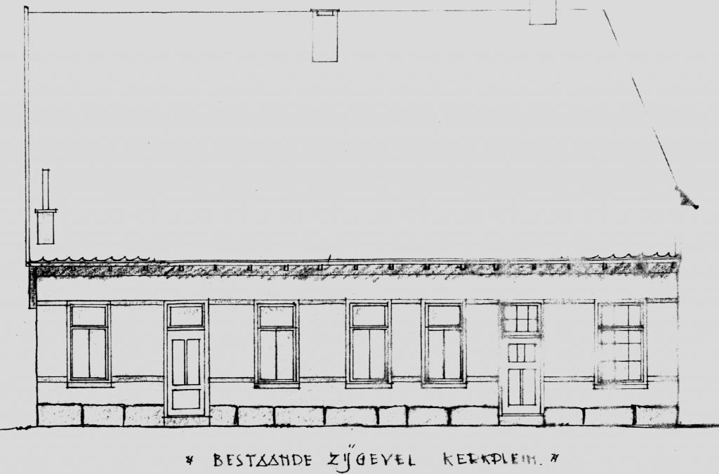 Bibliotheek verbouwing in 1952