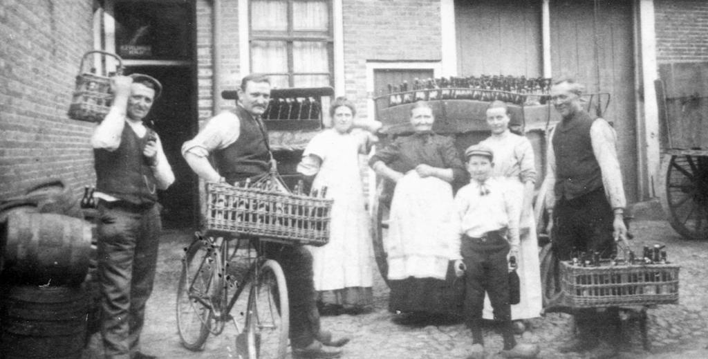 Familie Veldboer tussen 1910 en 1920