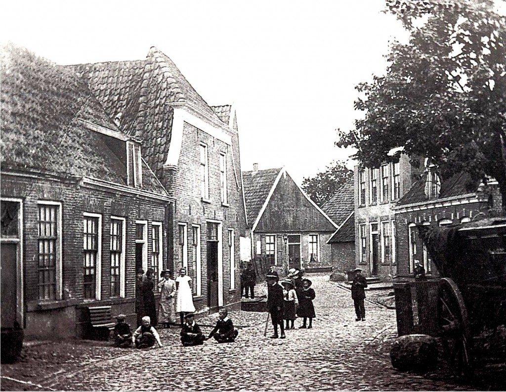 Ganzenmarkt begin 20ste eeuw