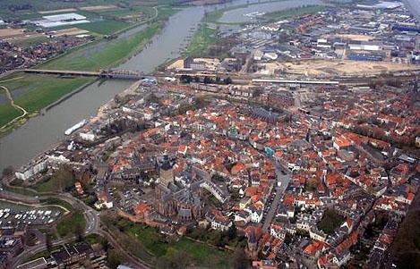 Zutphen Luchtfoto