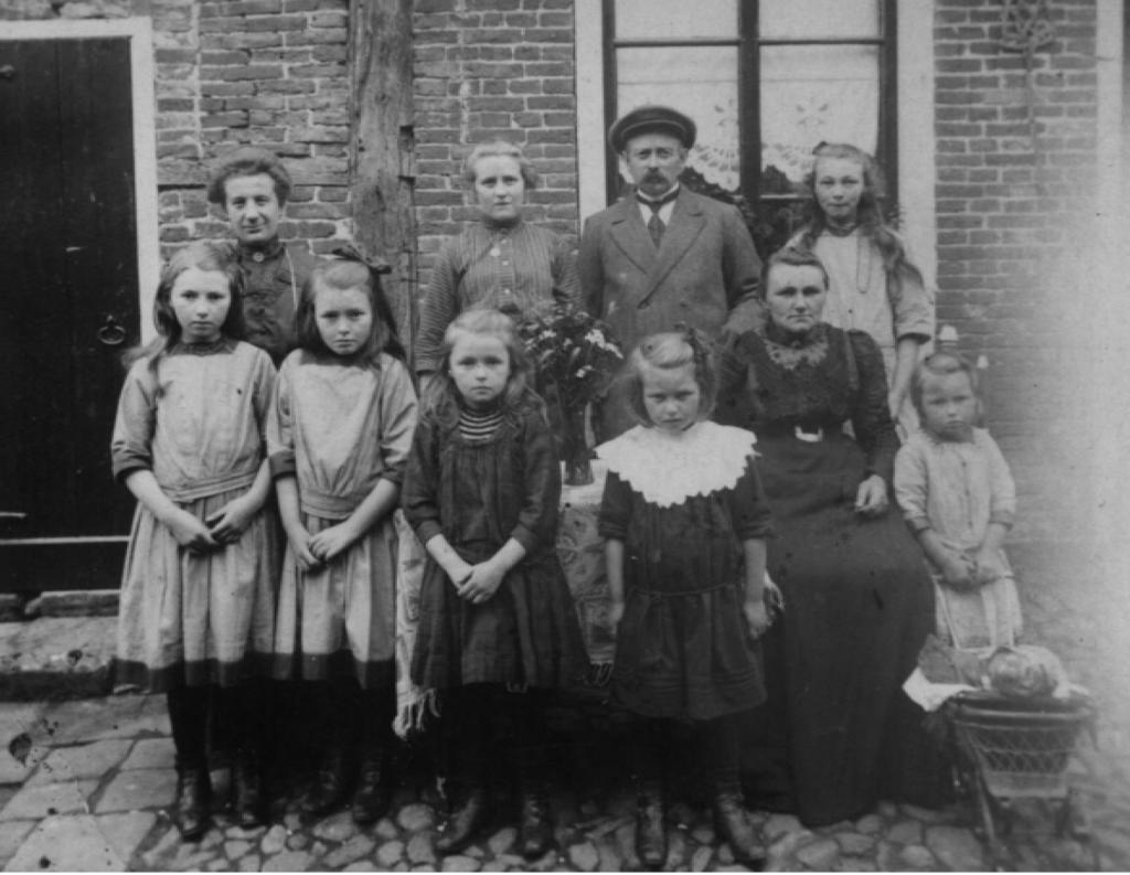 Familie Frowijn 1913