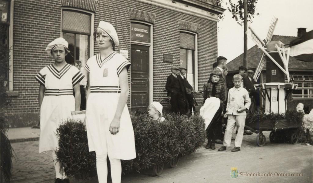 Koninginnedag 1937 - Ootmarsum