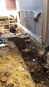 Archeologisch onderzoek voormalig Hotel De la Poste