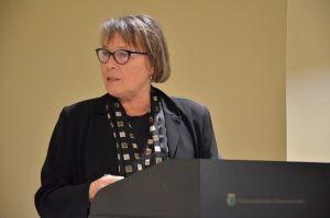 Nettie Aarnink, voorzitter Heemkunde Ootmarsum