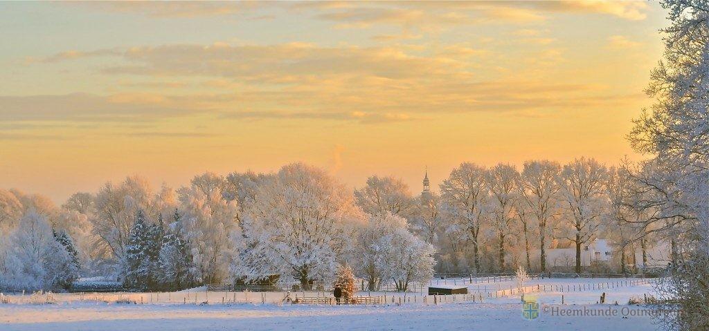 Stadsdichter Ootmarsum rijmt over eigenwijze winter