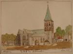 Oude prent RK kerk
