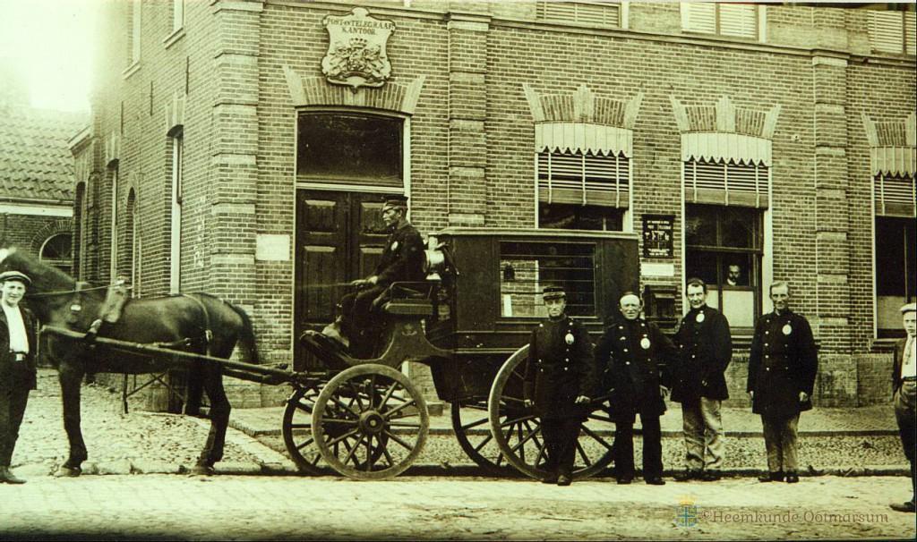Nieuwe wegen: Postkoets 1900