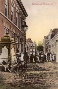 De watertoren: Stadspomp