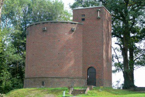 De watertoren op de Kuiperberg