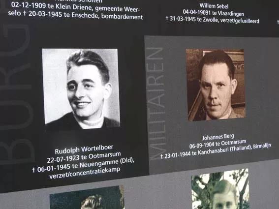 Billboard oorlogsslachtoffers Ootmarsum